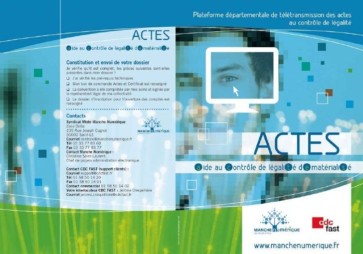 2011-01-28 - Dépliant ACTES