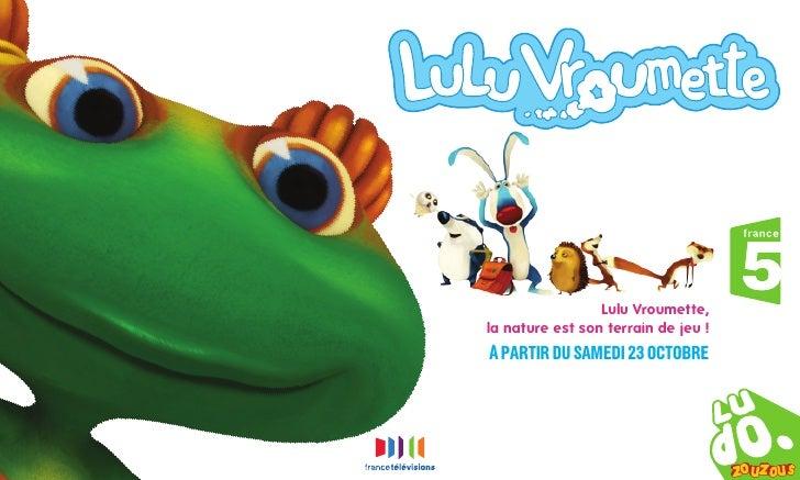 Lulu Vroumette, la nature est son terrain de jeu ! à partir du samedi 23 octobre