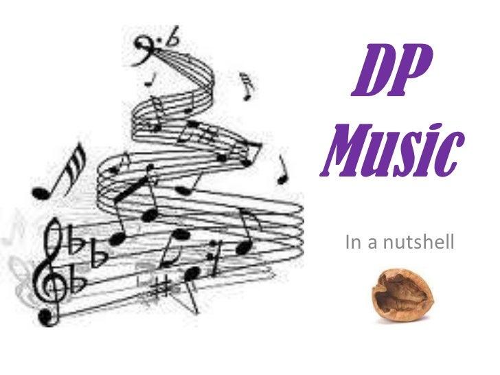 DPMusic In a nutshell