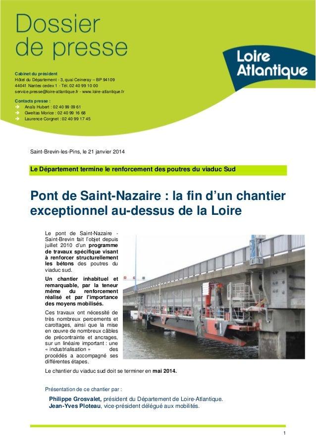 Cabinet du président Hôtel du Département - 3, quai Ceineray – BP 94109 44041 Nantes cedex 1 - Tél. 02 40 99 10 00 service...