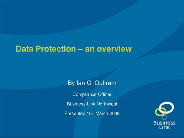 Data Protection Act presentation