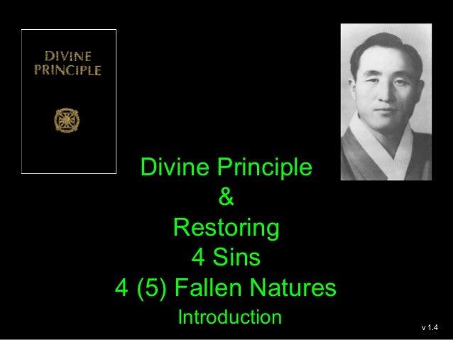 DP & Relationship 4 Sins & 4 (5) Fallen Natures