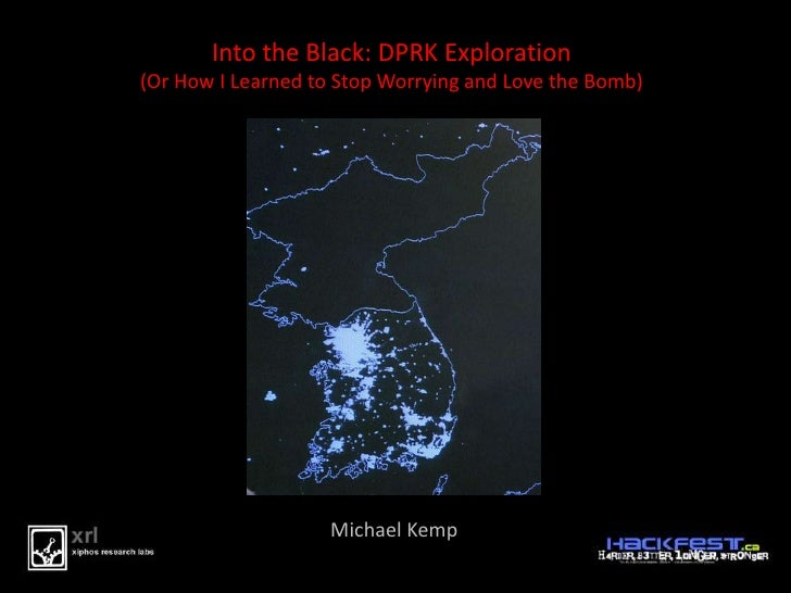 Into the Black: Explorations in DPRK (Mike Kemp)
