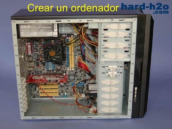 Crear un ordenador