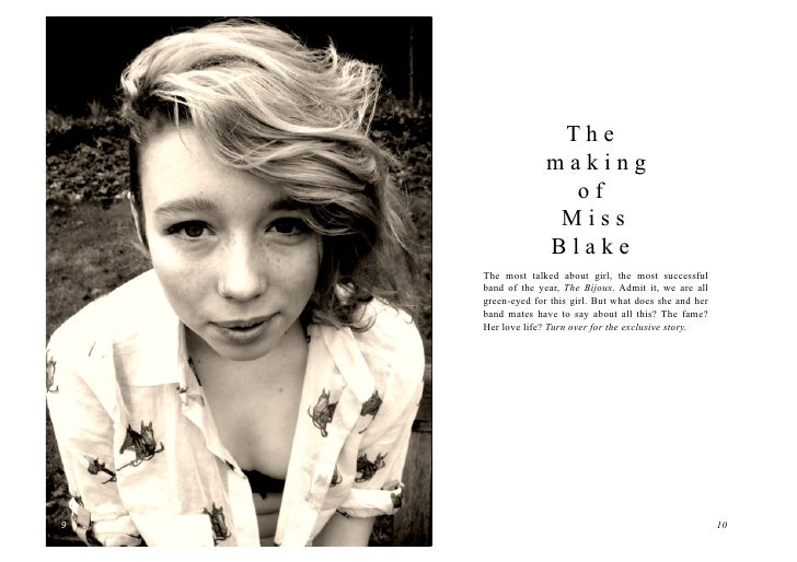 The                      making                        of                       Miss                      Blake        The...