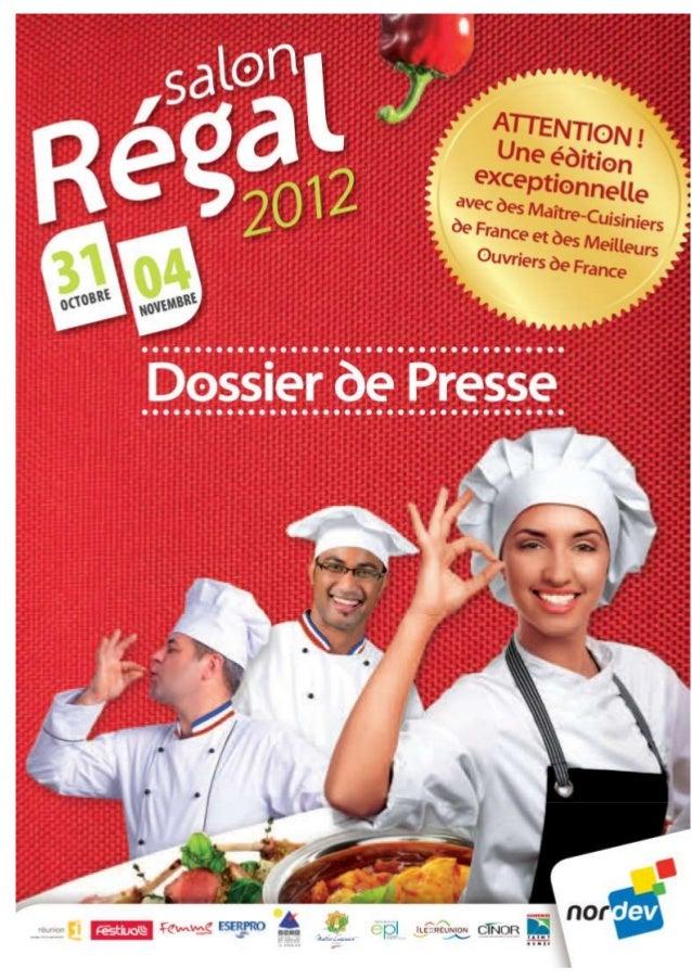Programme salon régal 2012