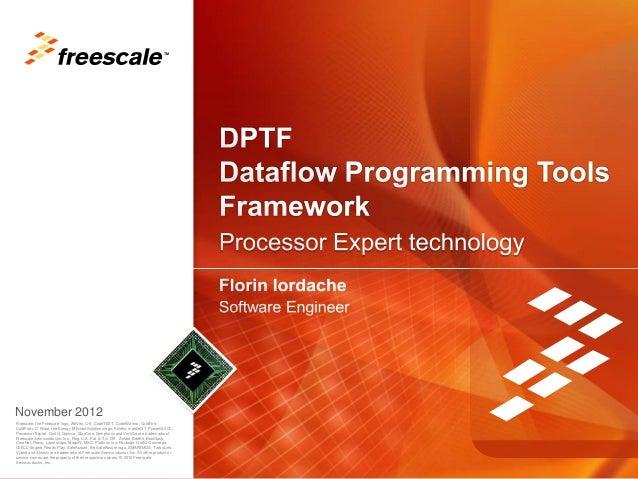 DPTF - Dataflow Programming Tools Framework