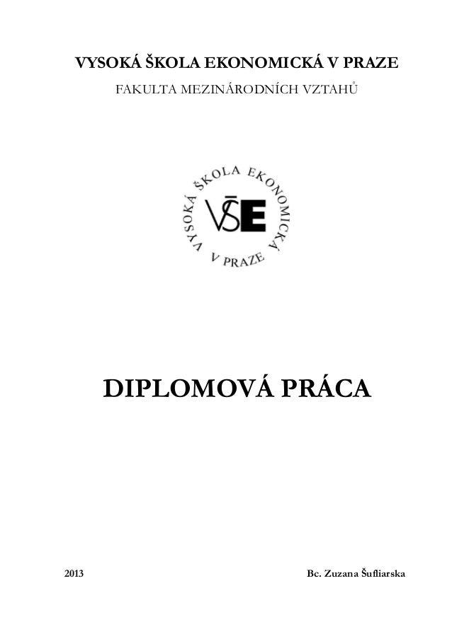 Diplomová práca_Postavenie Mexika v medzinárodnom obchode a možnosti rozšírenia spolupráce s ČR