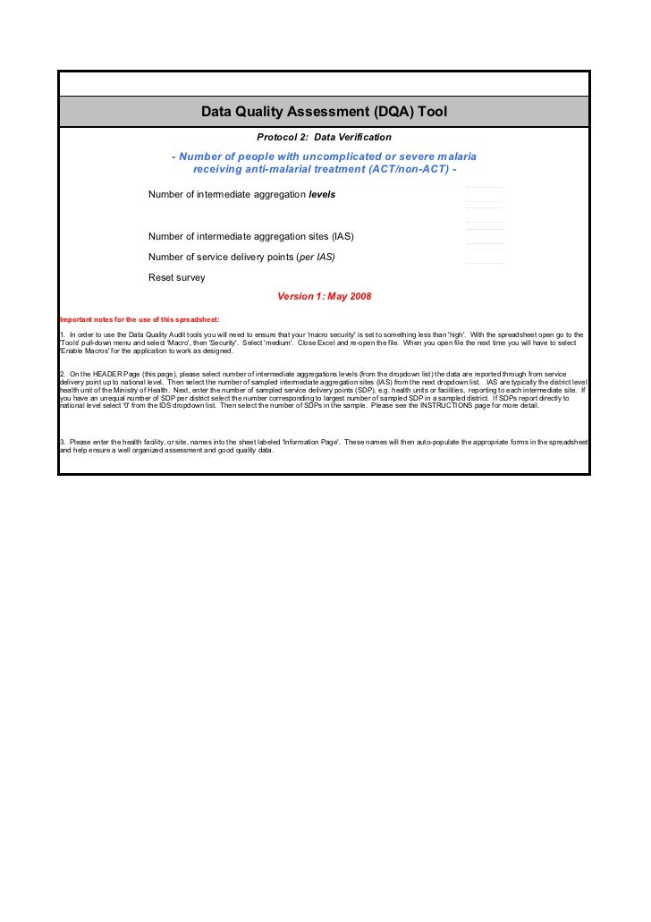 Dqa p2 malaria treatment_may 2008