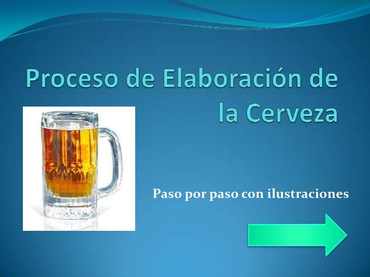 proceso de elaboraci u00d3n de la cerveza