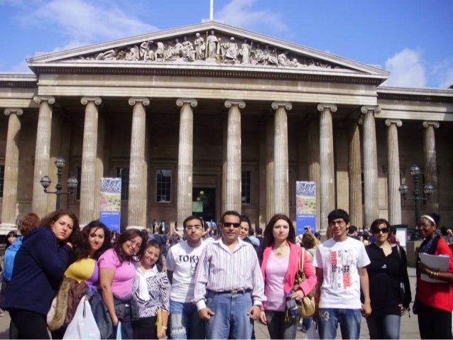 Dr. Refaat Bushra Megalli Head of English Unit with NUB Student (London 2009)