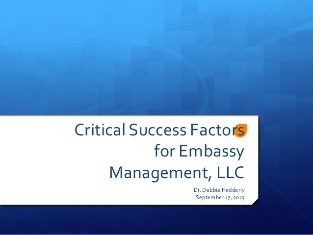 thesis on critical success factors Academiaedu is a platform for academics to share research papers.