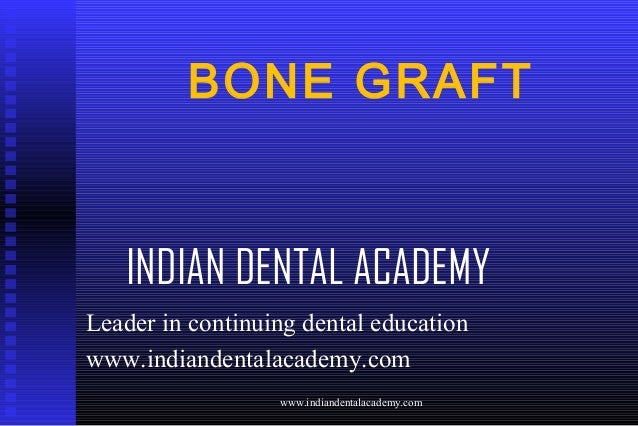 bone graft /certified fixed orthodontic courses by Indian dental academy