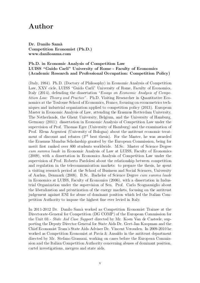 Essays on law and economics of state aid