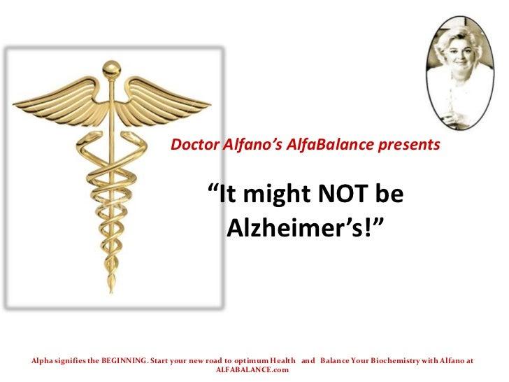 B12 Alzheimer's