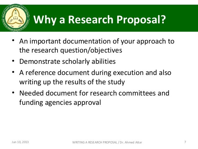 Experienced writers of research proposals typically