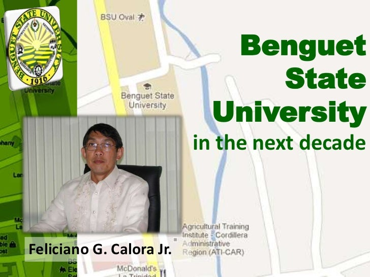 Benguet                               State                           University                          in the next deca...