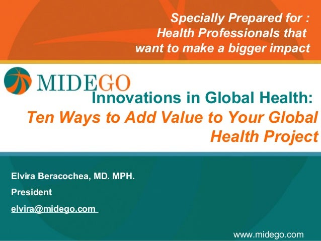 Specially Prepared for :                                 Health Professionals that                              want to ma...