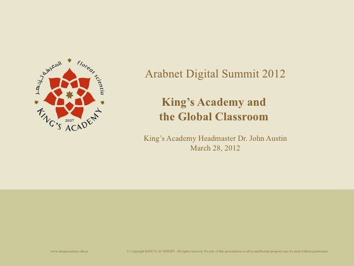 King's Academy and the Global Classroom