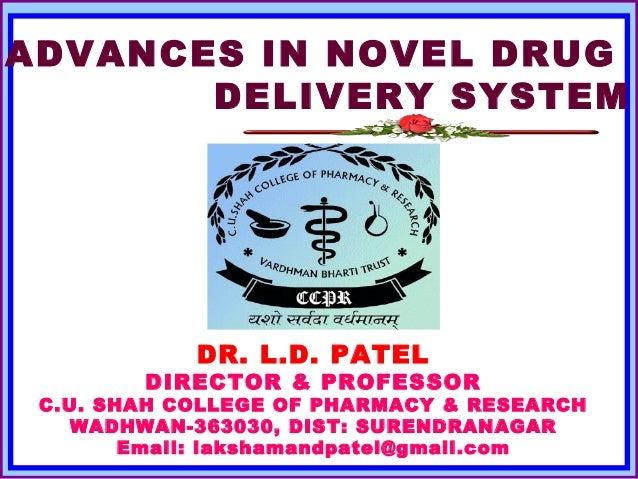 ANDDS - GASTRO RETENTIVE DRUG DELIVERY SYSTEM