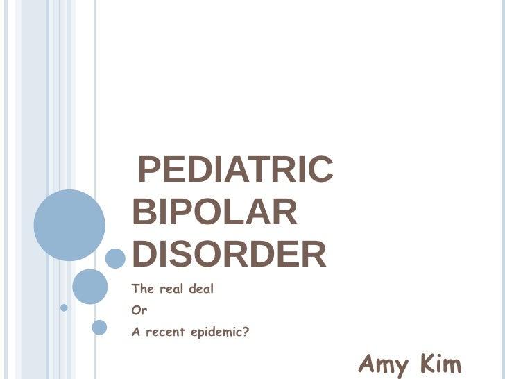 Pediatric Bipolar (against)