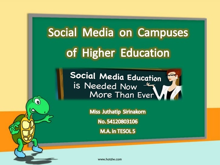 AbstractCommunication with students on campuses of higher education continuesto drastically change. The social media pheno...
