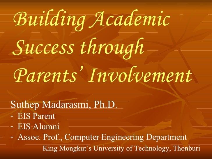 Dr. Suthep's PPT: Academic Success