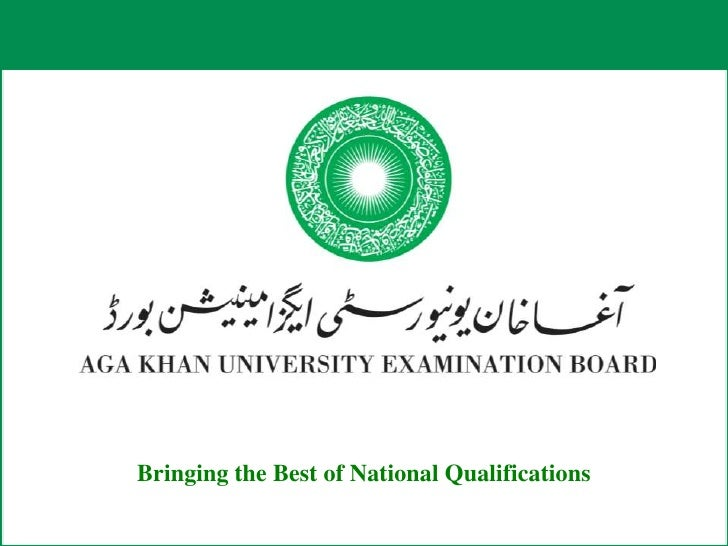 Bringing the Best of National Qualifications<br />