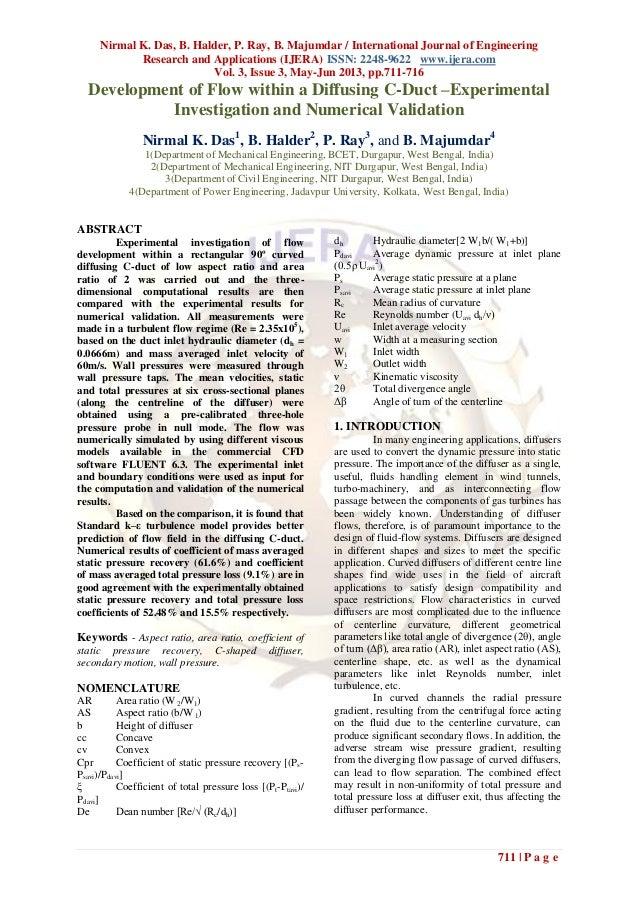 Nirmal K. Das, B. Halder, P. Ray, B. Majumdar / International Journal of EngineeringResearch and Applications (IJERA) ISSN...