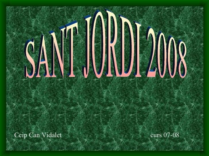 DRACS  SANT   JORDI      2008