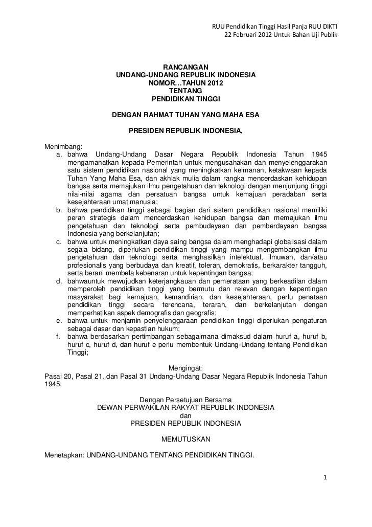 Draf ruu dikti versi  22 februari 2012 untuk uji publik ok nz