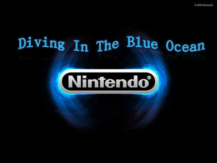 nintendo and blue ocean strategy