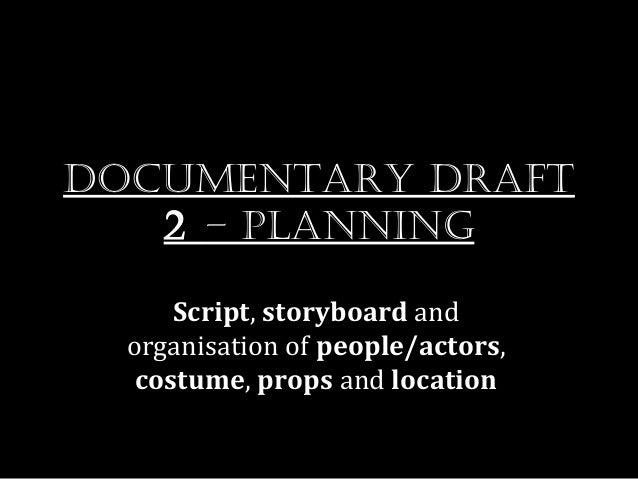 Draft 2   planning