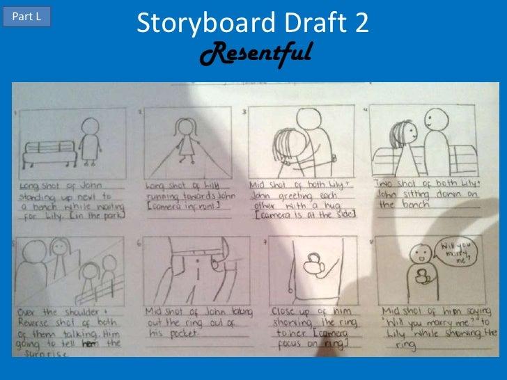Part L         Storyboard Draft 2             Resentful