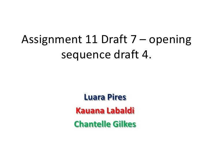Draft 4 part 1