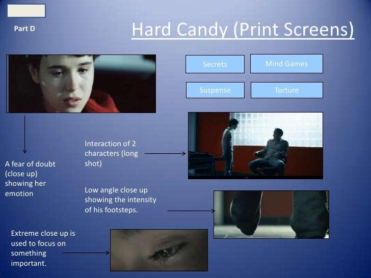 Part D                                    Hard Candy (Print Screens)                                               Secrets...
