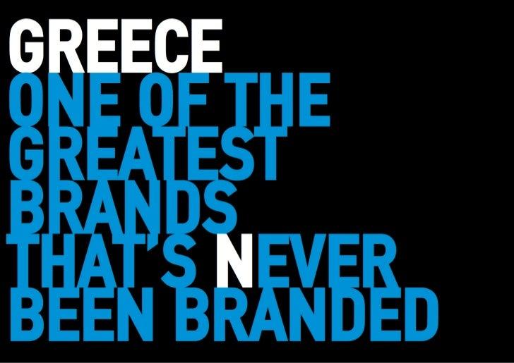 Brand Greece
