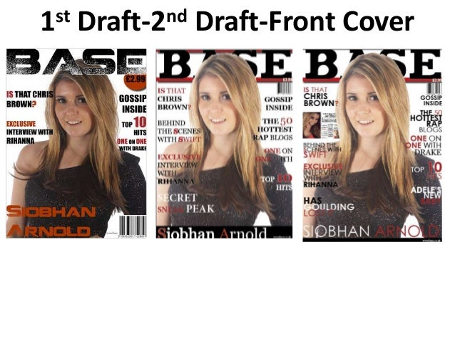 1 st   Draft-2 nd   Draft-Front Cover