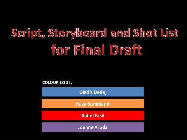 Draft five s & s