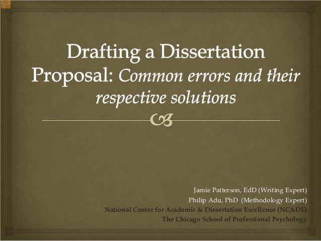 Dissertation Proposal Templates