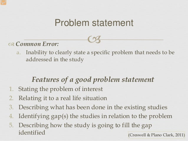 Doctoral Dissertation Problem Statement