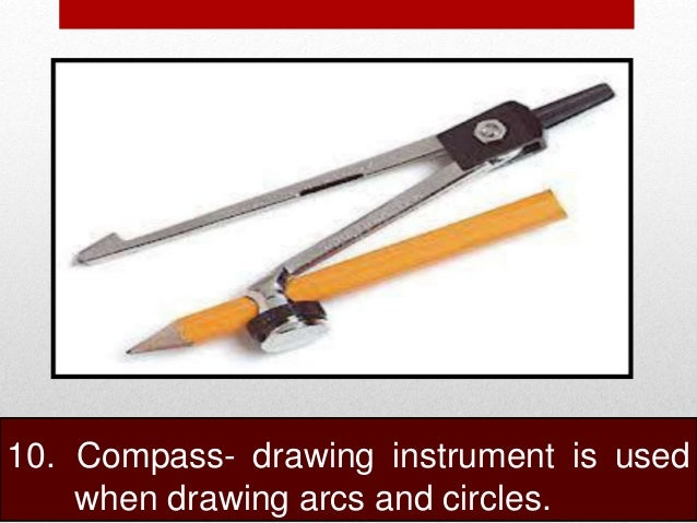 Compass Instrument Drawing Compass Drawing Instrument is