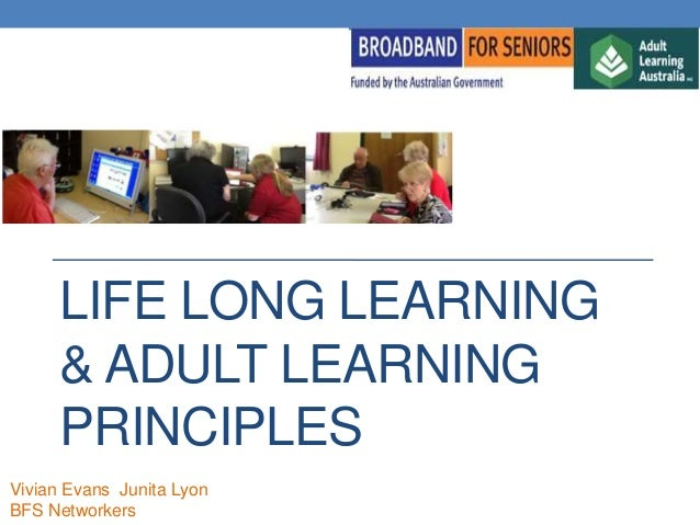 Draft principles of adult learning bfs presentation 20th sept 2013