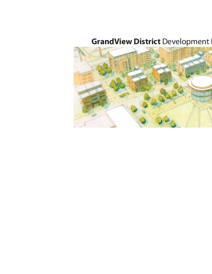 Draft report Grandview District Plan, Jan. 31, 2012