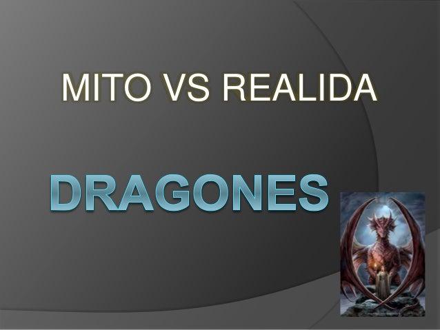 MITO VS REALIDA