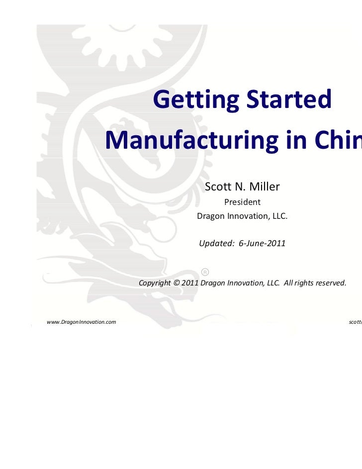 Dragon innovation manufacturing_overview
