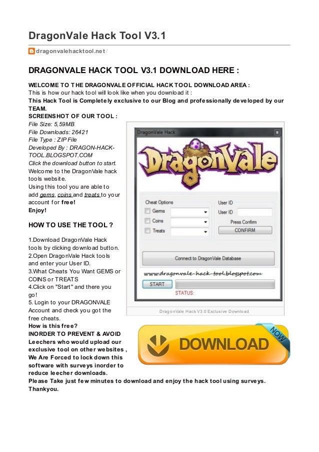 DragonVale Hack V3.0 Exclusive Download DragonVale Hack Tool V3.1 dragonvalehacktool.net / DRAGONVALE HACK TOOL V3.1 DOWNL...