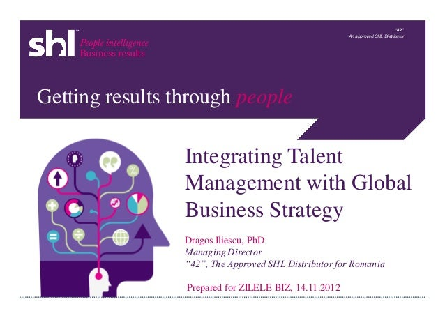 Dragos iliescu shl-talent management and global business strategy