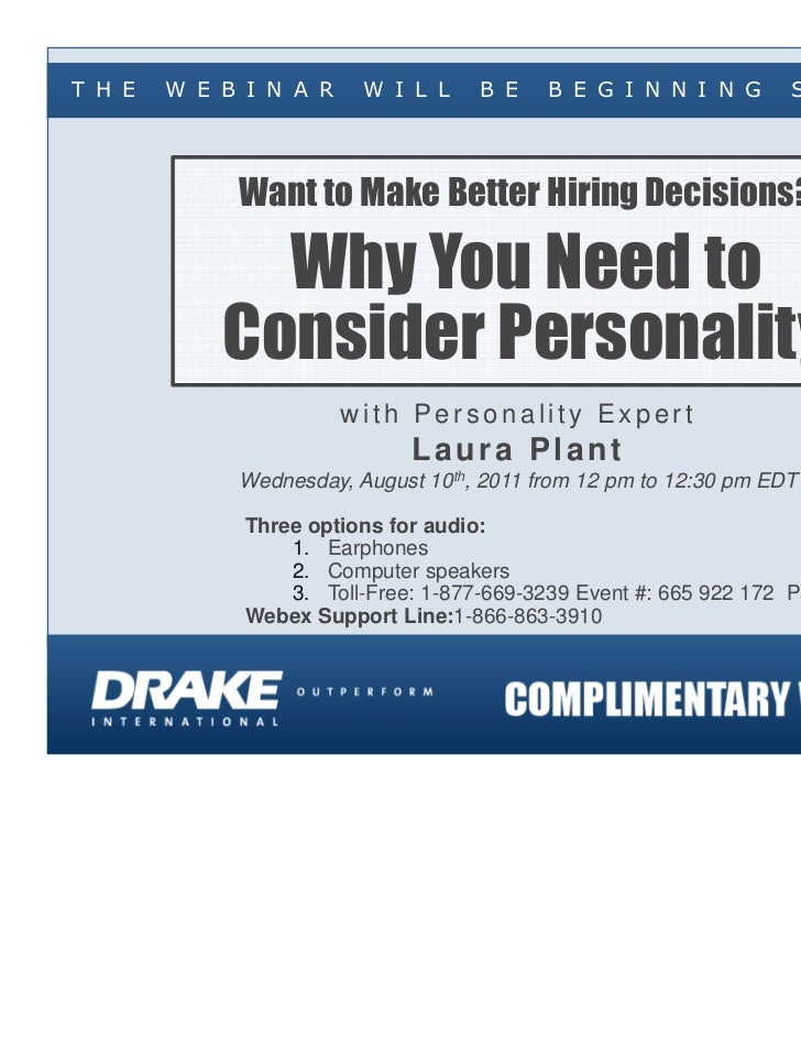 Want to Make Better Hiring Decisions? Why You Need to Consider Personality