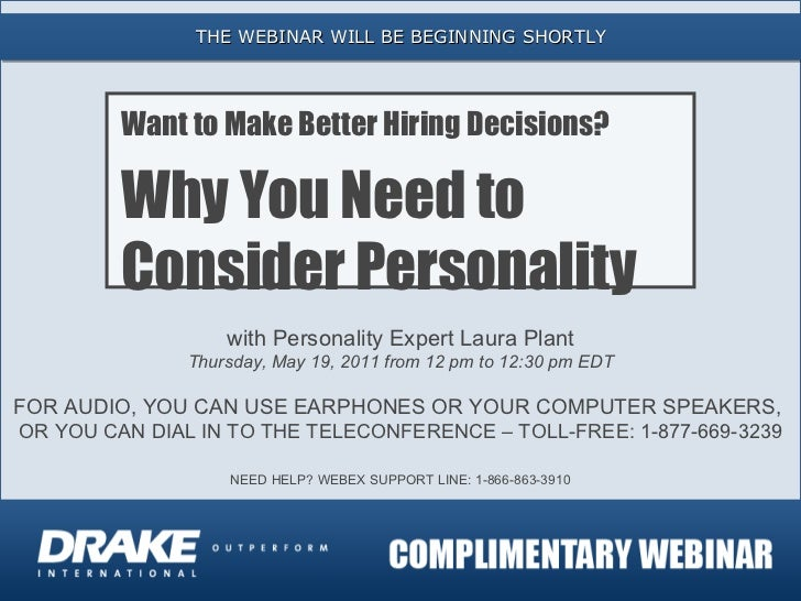 Want to Make Better Hiring Decisions? Why You Need to Consider Personality.